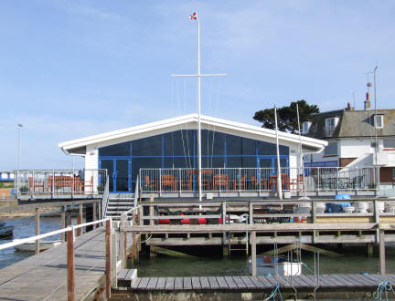 Clubhouse rebuilt from the seabed upwards in 2008